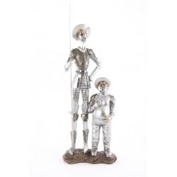 Figura Quijote y Sancho Lanza