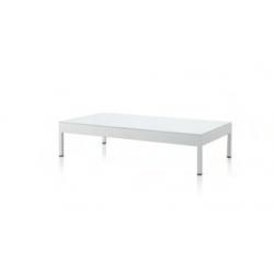 Sofa Aluminio Blanco C/Cojines + 4 Cuadrantes